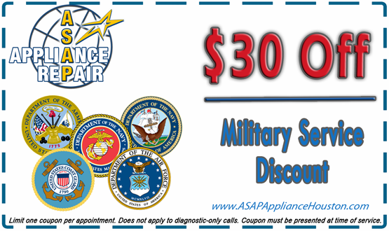 $30 Off Military Repair Coupon